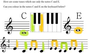 music example