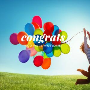congratualations!
