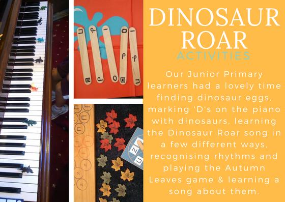 Dinosaur Roar Activities
