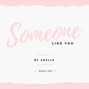 someone like you MUSIC PDF button