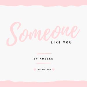 someone like you MUSIC PDF button