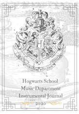 Copy of Hogwarts School Music DepartmentInstrumental Journal