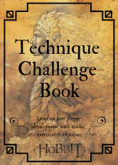 Technique Challenge Book Title Page Colour